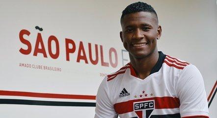 Orejuela ainda não conseguiu estrear pelo São Paulo