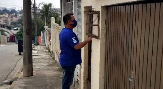 Cerca de 355 casas já foram visitadas por orientadores da Saae