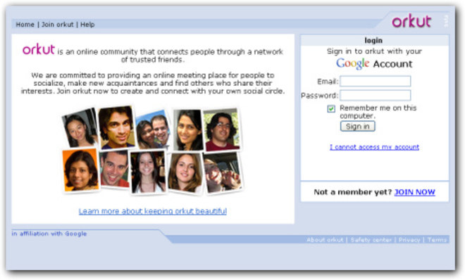 O Orkut fez o maior sucesso nos anos 2000 e era a principal rede social entre os brasileiros. Antes do Facebook ser tão popular, todo mundo ficava em frente ao computador conversando em comunidades e escrevendo scraps ou depoimentos para amigos. A finada rede social foi completamente desativada há 4 anos e deixou muitos fãs. Relembre!*Estagiária do R7, sob supervisão de Pablo Marques