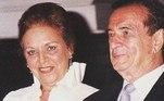 As bodas de ouro do casal foram comemoradas em 2001