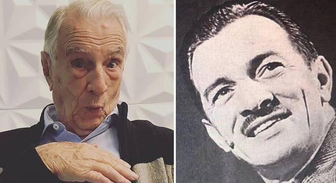 Orlando Drummond relembra foto da década de 1950