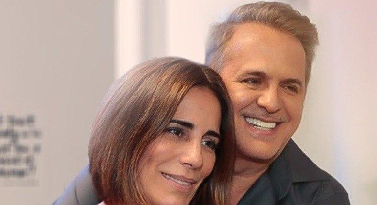 Orlando é casado com Glória Pires