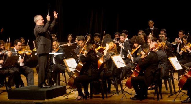 A Orquestra Sinfônica Heliópolis faz parte da ONG Instituto Baccarelli