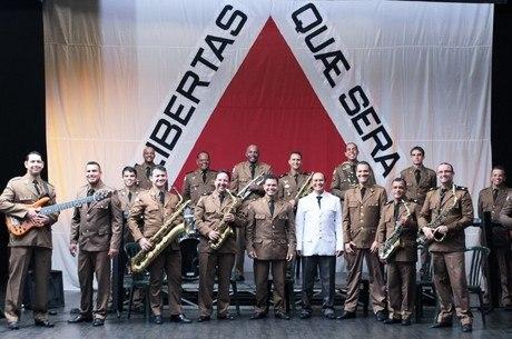 Apresentação será feita pela orquestra da Polícia Militar