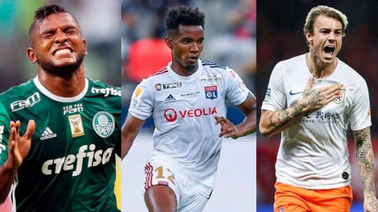 Os clubes brasileiros seguem se movimentando no mercado da bola, por isso, o LANCE! reuniu alguns nomes que estão sendo tratados como possíveis reforços no Brasil. Confira!