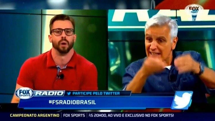 """Os comentaristas Felippe Facincani e Fábio Sormani discutiram ao vivo no programa """"Fox Sports Rádio"""", em 2018, quando iniciou-se uma comparação entre as seleções do Brasil e da Itália na Copa de 82. Benjamin Back, o apresentador, precisou interferir e até chegou a pedir que eles deixassem o estúdio."""