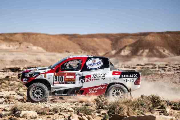Os companheiros da Toyota foram para a corrida mais pela experiência do que pela vitória
