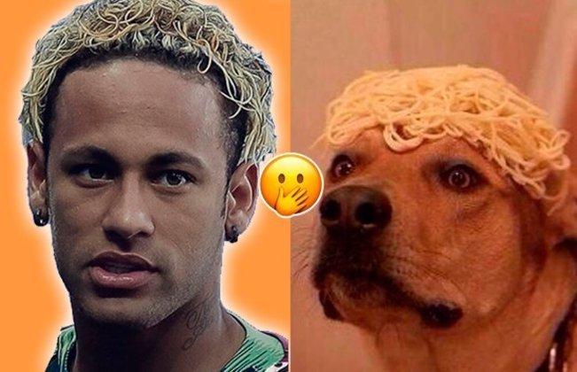 Os cortes de cabelo de Neymar sempre chamaram a atenção e foram motivo de brincadeiras