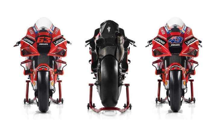 Os detalhes da GP21, a moto da Ducati para 2021