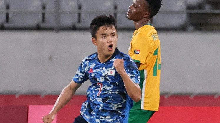 Os donos da casa estrearam com pé direito. Em Tóquio, o Japão derrotou a África do Sul por 1 a 0, pelo Grupo A, e aumentou a pressão sobre a França.