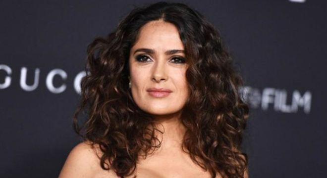 A atriz foi indicada ao Oscar pelo filme Frida