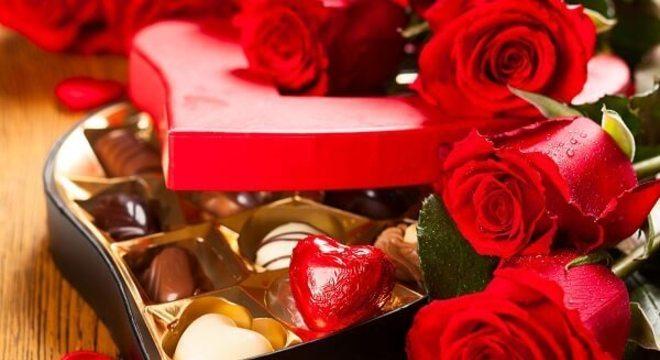 Os famosos e tradicionais bombons para o dia dos namorados