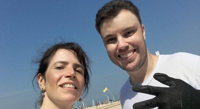 Juizes Thiago Mafra e Mônica Cardoso trabalharam de garis para a Comlurb