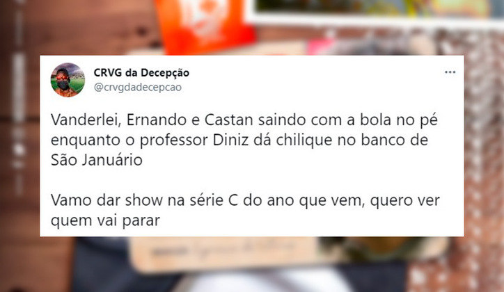 Os melhores memes da chegada de Fernando Diniz ao Vasco da Gama