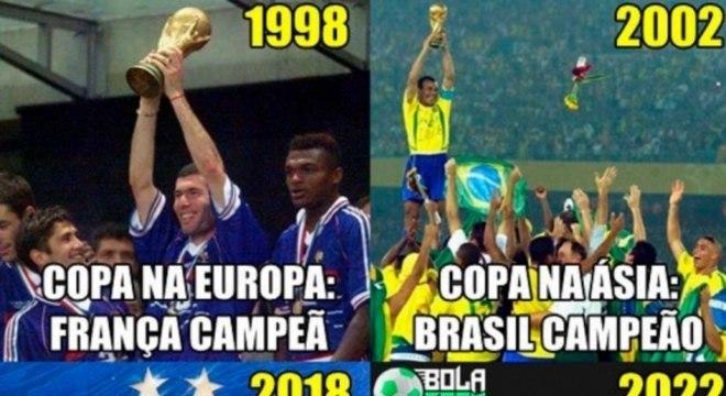 Copa Do Mundo Os Melhores Memes Do Título Da França Copa