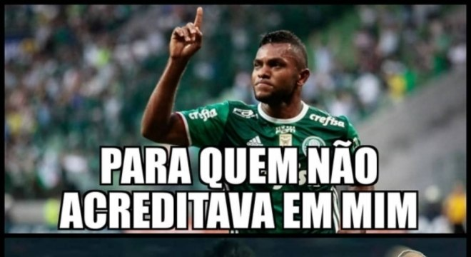Os memes da vitória do Palmeiras sobre o Cerro Porteño pela Libertadores