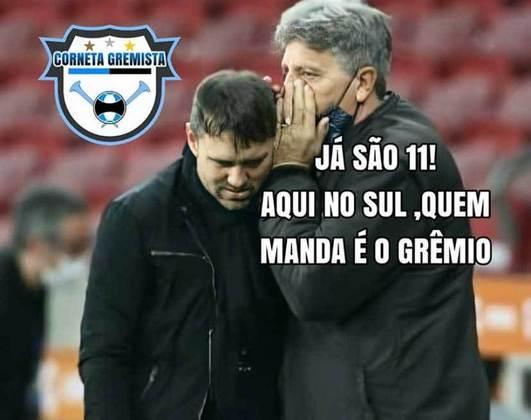 Os memes do 1 a 1 no GreNal pela 13ª rodada do Brasileirão