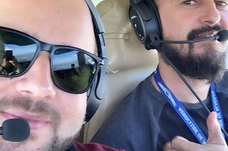 Os pilotos Abraão Farias e Gabriel Diniz