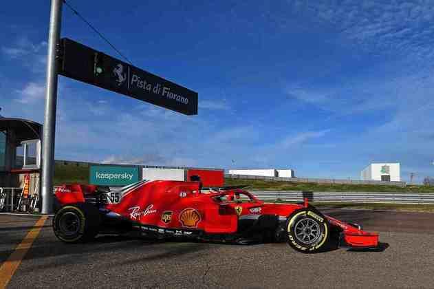 Os testes acontecem em Fiorano, pista particular da Ferrari