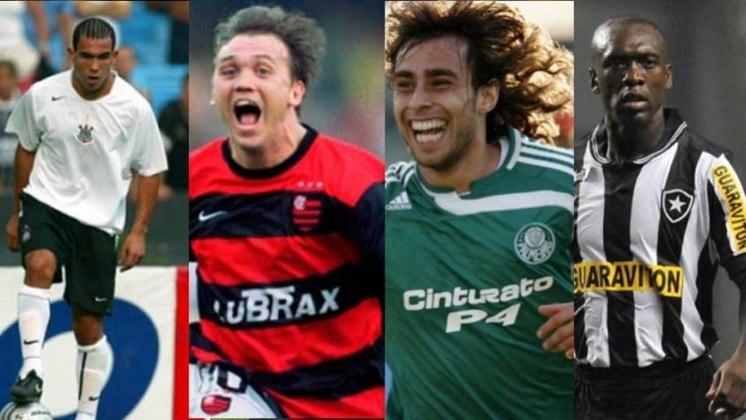 Os times brasileiros sempre tiveram estrangeiros que marcaram seus nomes na história. Mas e se todos eles tivessem atuado juntos, formando uma equipe? Confira a 'seleção gringa' de cada um dos maiores times do Brasil: