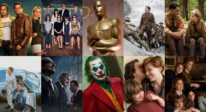 Os 9 filmes indicados à categoria principal no Oscar de 2020