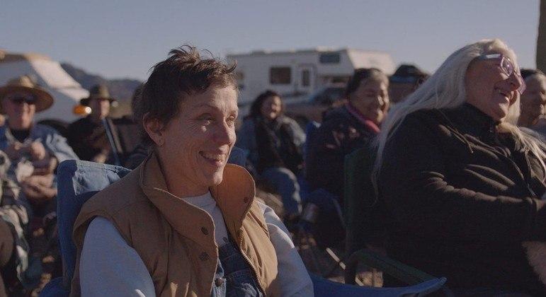 'Nomadland' também rendeu o Oscar de melhor atriz para Frances McDormand