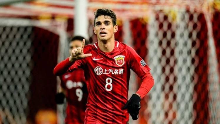 Oscar - já está há duas temporadas no Shanghai SIPG