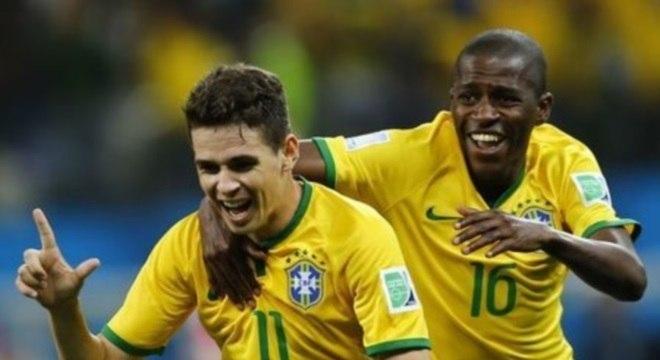 Oscar disputou a Copa do Mundo de 2014 pela seleção