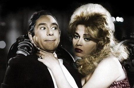 Oscarito em cena de 'O Homem do Sputnik', de 1958