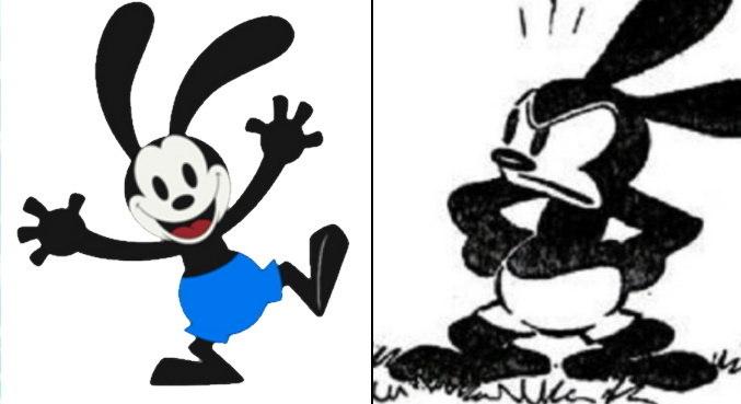 Oswald era o personagem principal criado por Walt Disney antes de Mickey