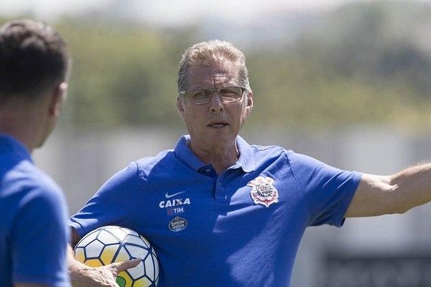 Oswaldo de Oliveira - Treinou o Corinthians entre outubro e dezembro de 2016 - 9 jogos