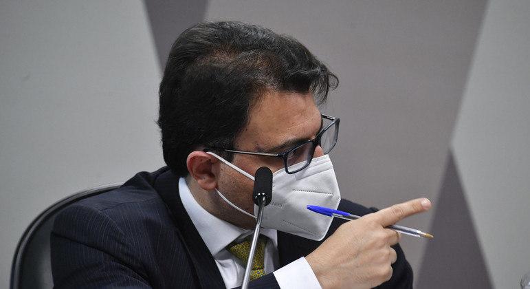 Empresário Otávio Fakhoury foi ouvido pela CPI nesta quinta-feira