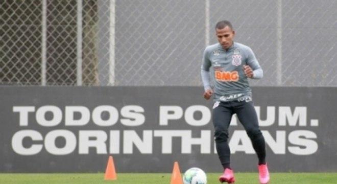 Otero - Treino Corinthians