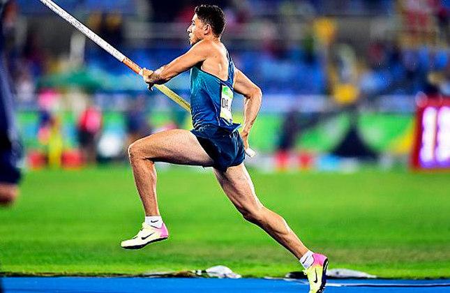 Ouro na Rio-2016, Thiago Braz fará a final do salto com vara, às 7h20. Boas chances de medalha.