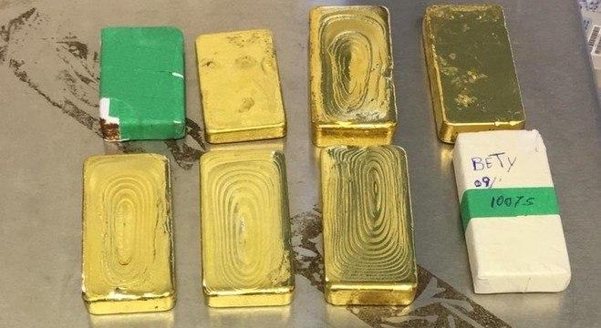 """Operação foi batizada de """"ouro perdido"""" em função da extração ilegal do metal"""