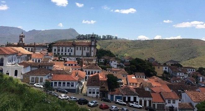 A cidade de Ouro Preto é um destinos turísticos mais conhecidos de MG