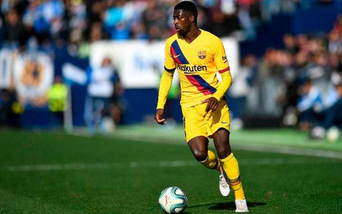 Ousmane Dembélé - 24 anos - Atacante - Clube: Barcelona - Contrato até: 30/06/2022