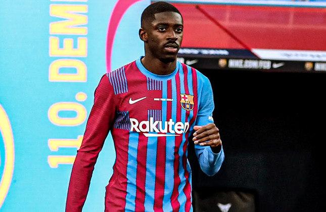 Ousmane Dembelé (24 anos) - Atacante do Barcelona - Valor de mercado: 50 milhões de euros - Está próximo de renovar o contrato.