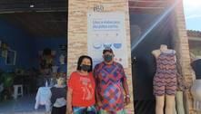 Projeto ajuda moradores de favelas em todo o país com renda extra