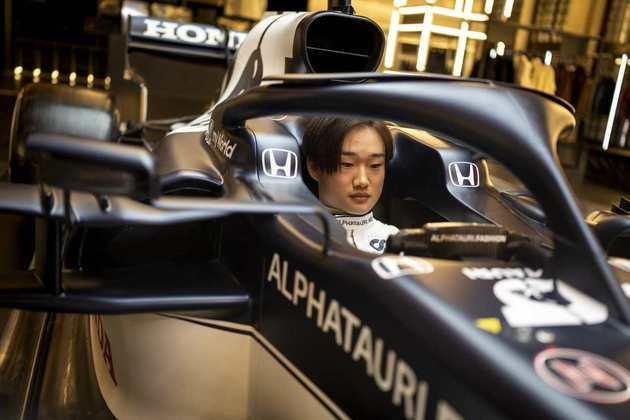 Outra novidade para a temporada 2021 é a chegada de Yuki Tsunoda na vaga de Daniil Kvyat