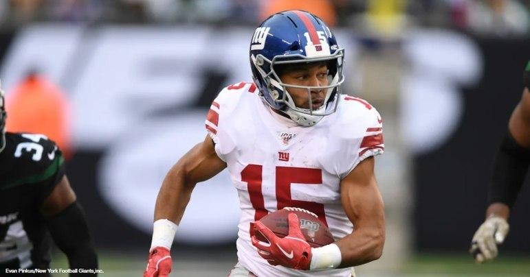 Outra possibilidade dos Giants é negociar o wide receiver Golden Tate, que ainda tem mercado na NFL.