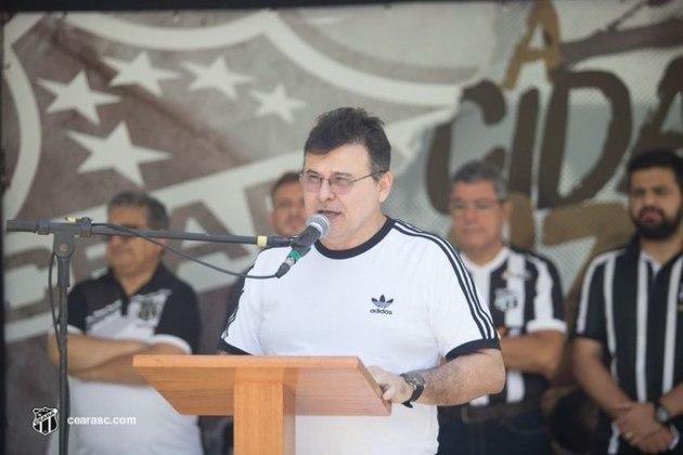 Outro clube a favor da MP foi o Ceará, que enviou o presidente, Robinson Passos de Castro e Silva