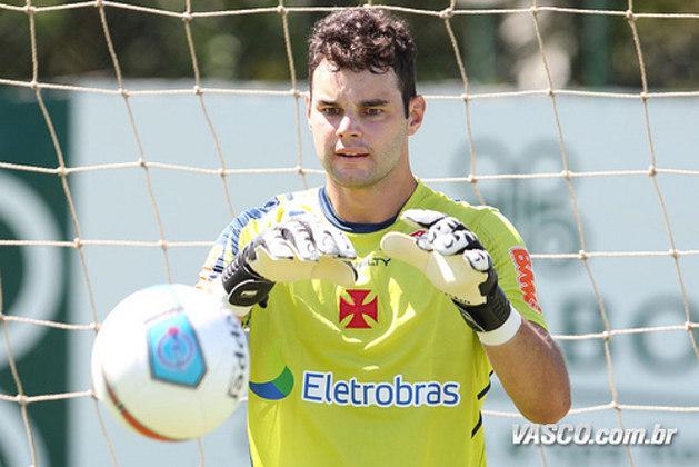 Outro goleiro marcado pelo rebaixamento do time no Campeonato Brasileiro de 2013, Alessandro esteve em campo também em 2012.