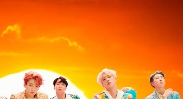 Outro lançamento do BTS,