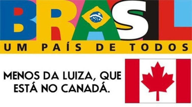 Outro meme que bombava na época era o da Luíza. De lá para cá, ninguém viu título do São Paulo, nem mesmo a Luíza, lá do Canadá