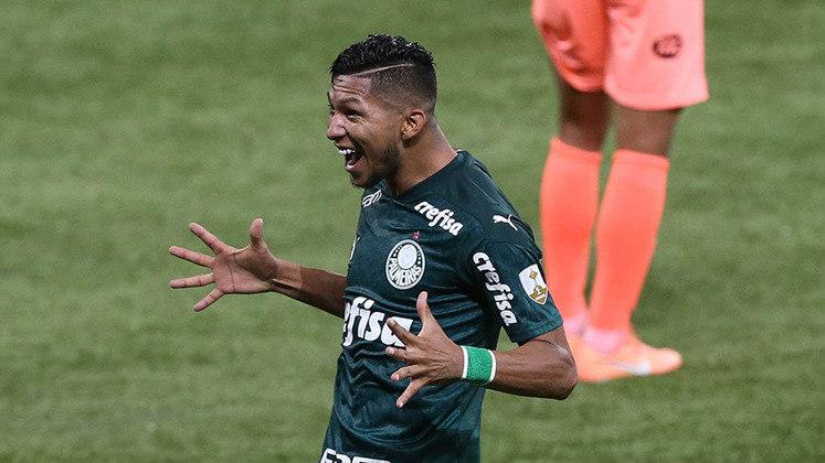 Outro que debutou ao marcar pelo Verdão foi Rony. O atacante pegou gosto pelo gol após desencantar, especialmente na Libertadores