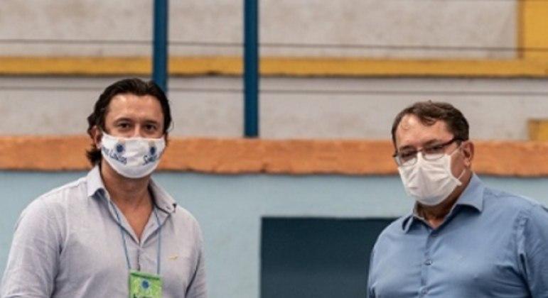 Outrora aliados, Sérgio Santos Rodrigues  e Pedro Lourenço não estão se entendendo mais