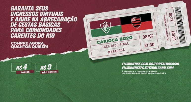 Outros clubes também aderiram à venda de ingressos solidários em transmissões de jogos, casos de Santa Cruz, Botafogo-SP, Fluminense, São Paulo, Volta Redonda, entre outros