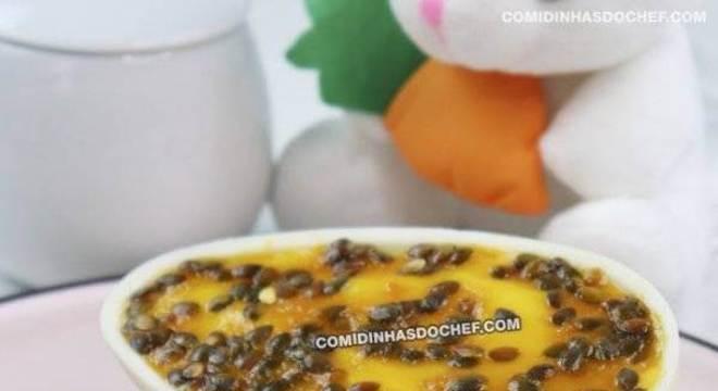 Ovo de Colher de Maracujá