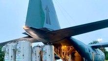 Forças Armadas transportam cilindros de oxigênio para Manaus